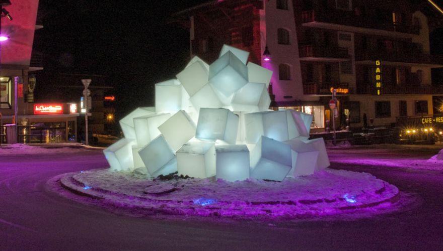 Location de cubes lumineux avec ou sans fil