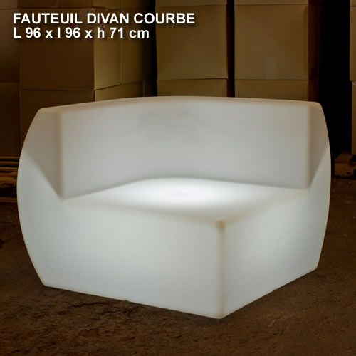 Fauteuil-lumineux-Divan-courbe