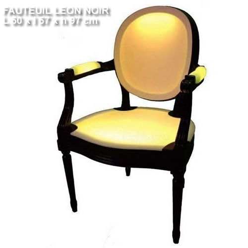 Fauteuil-lumineux-Leon-noir