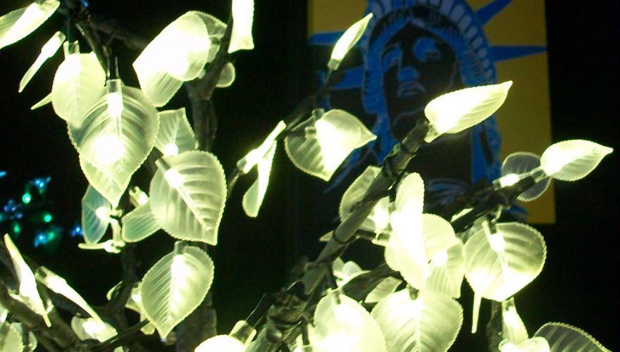 Peupliers lumineux LED
