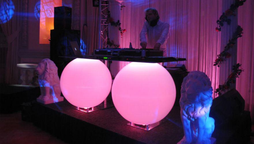 Sphère lumineuse Planet