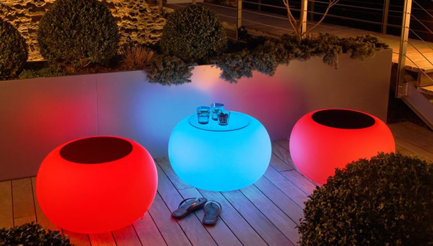 table-lumineuse-bubble