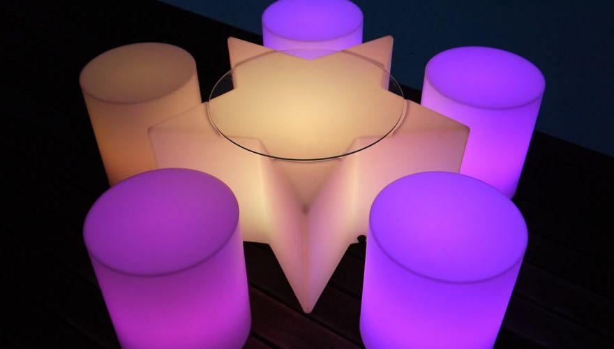 table-lumineuse-etoile